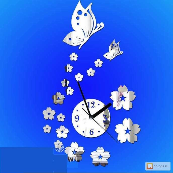 Украсить настенные часы