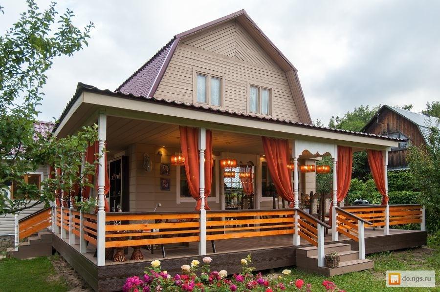 Веранда к деревенскому дому проекты