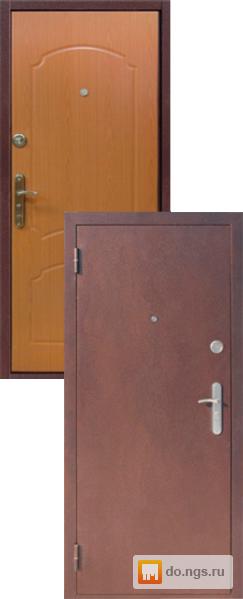 металлические двери стандарт с минеральной ватой