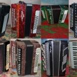 Ремонт аккордеонов и других язычковых духовых музыкальных инструментов, Кемерово