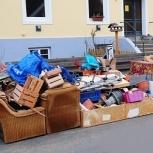 Вывоз строительного и бытового мусора на спец свалки. Грузчики, Кемерово
