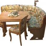Румынские кухонные уголки со столом и стульями под ваш гарнитур!, Кемерово