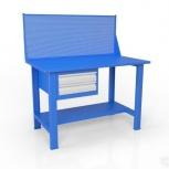Стол слесарный с экраном и ящиком вст-Н 12/тп1-Э4, Кемерово