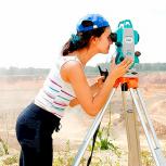 Видео-курс по геодезии. Работа с тахеометром, Кемерово