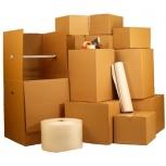 Картонные коробки для переезда, стрейч пузырьковая пленка, Кемерово