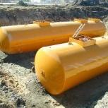 Резервуар горизонтальный стальной РГС-50 м3 (РГСП-50м3), Кемерово