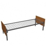 Кровати металлические для больниц с спинками ДСП, Кемерово