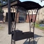 Мангал с крышей на заказ, Кемерово