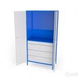 Шкаф металлический под инструменты ши-1П-4Я, Кемерово