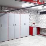 Мебель для гаража в комплекте (верстак, шкафы), Кемерово