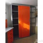 Шкаф-купе металлический для гаража, Кемерово