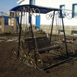 Качели садовые кованые, Кемерово