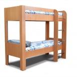 Кровать Кр-2х2 Двухъярусная бук, Кемерово