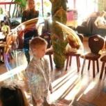 Шоу мыльных пузырей на празднике, Кемерово
